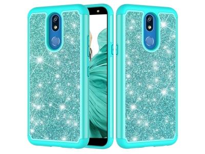 Удароустойчив Гръб Shiny Glittery за LG K40/K12+/K12 Plus, Зелен