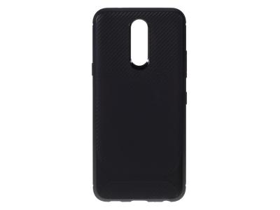 Силиконов гръб Carbon за LG K40/K12+/K12 Plus, Черен