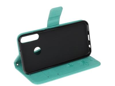 Калъф Тефтер Butterfly за Huawei P40 lite E/Y7p/Honor 9C, Зелен