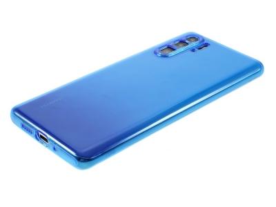 Силиконов гръб за Huawei P30 Pro, Син