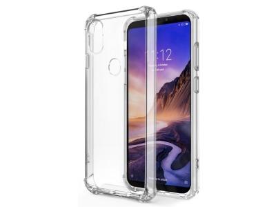 Силиконов Гръб Drop-resistant за Huawei Y6 2019, Прозрачен