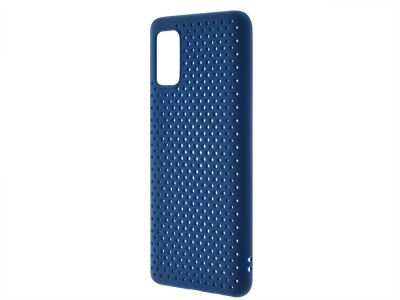 Силиконов Гръб Breath за Samsung Galaxy A41, Син