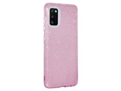 Силиконов Гръб SHINING за Samsung Galaxy A41, Розов
