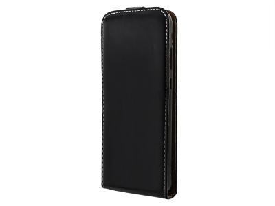 Калъф тефтер Slim Flexy за Huawei Y6p, Черен