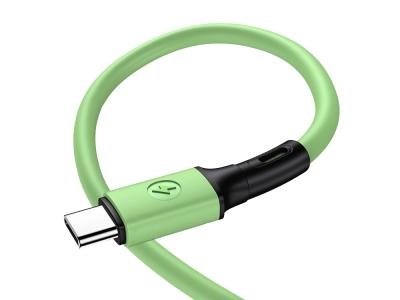 Кабел USB към Type C USAMS SJ436 U52 1m, Зелен