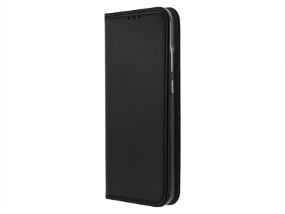 Калъф тефтер Smart Book за Huawei Y6 (2019), Черен