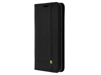Калъф Тефтер Prestige за Huawei Y6P, Черен