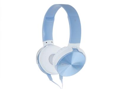 Слушалки с микрофон GJBY Audio Extra Bass GJ-29, Син
