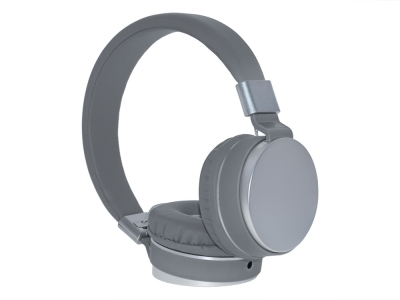 Слушалки с микрофон GJBY Audio Extra Bass GJ-30, Сив