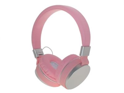 Слушалки с микрофон GJBY Audio Extra Bass GJ-30, Розов