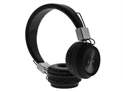 Безжични слушалки GJBY Bluetooth CA-021, Черен