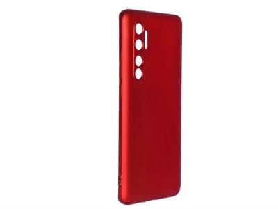 Силиконов гръб Level за Xiaomi Mi Note 10 Lite, Червен