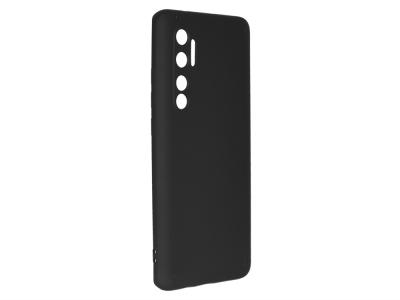 Силиконов гръб Level за Xiaomi Mi Note 10 Lite, Черен