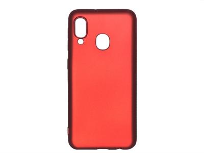 Силиконов Гръб Level за Samsung Galaxy A20e, Червен