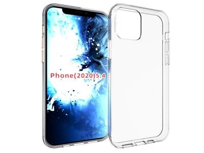 Силиконов Гръб Anti-fingerprint за iPhone 12 Mini, Прозрачен
