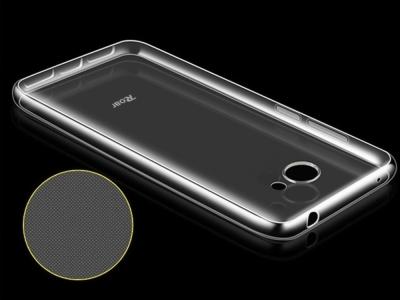 Силиконов гръб Jelly Case Roar за Huawei Y7 (2017), Прозрачен