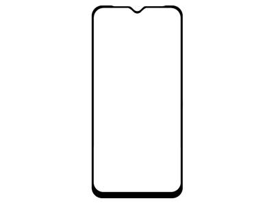 Стъклен Протектор 5D Full Glue за Samsung Galaxy A20s, Черен