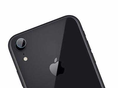 Стъклен протектор за камера за iPhone XR