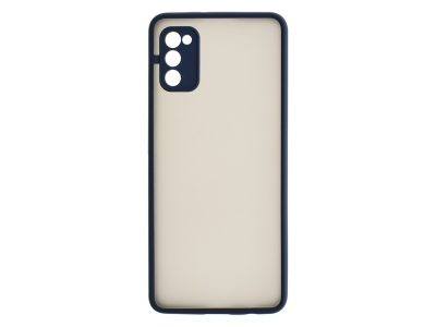 Удароустойчив Гръб Hybrid за Samsung Galaxy A41, Тъмно син