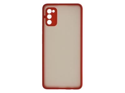Удароустойчив Гръб Hybrid за Samsung Galaxy A41, Червен