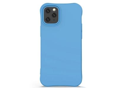 Силиконов гръб Matte за iPhone 12 Mini, Син