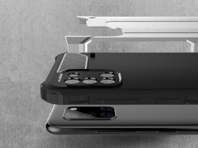 Удароустойчив гръб Armor за Samsung Galaxy A31, Сребрист