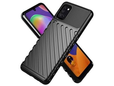Силиконов гръб Twill Skin за Samsung Galaxy A31, Черен