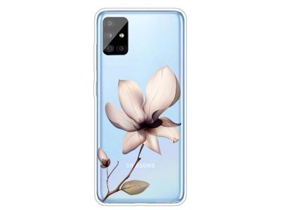 Силиконов Гръб за Samsung Galaxy A31, Красиво цвете