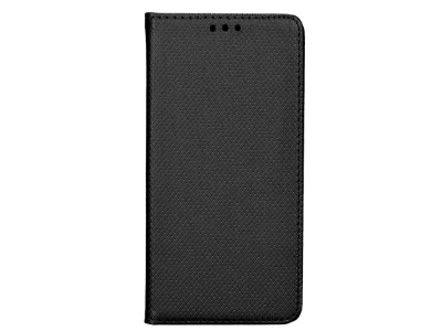 Калъф тефтер Smart Book за Motorola G8 Power Lite, Черен