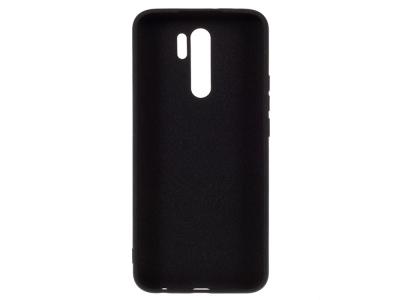 Силиконов гръб Matte за Xiaomi Redmi 9, Черен
