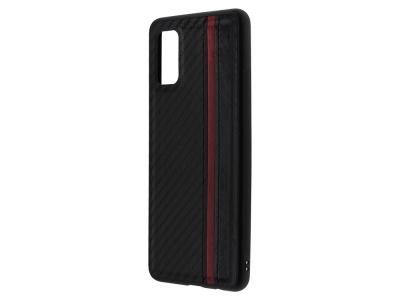 Удароустойчив калъф MULSAE CARBON за Samsung Galaxy A41, Черен