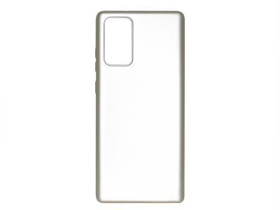 Силиконов Гръб Level за Samsung Galaxy Note 20, Златист