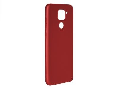 Силиконов калъф Level за Xiaomi Redmi Note 9, Червен