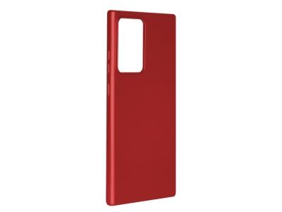 Силиконов гръб Level за Samsung Galaxy Note 20 Ultra, Червен
