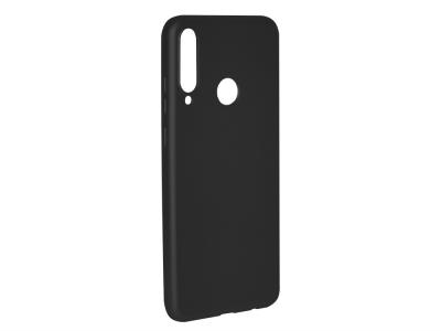 Силиконов гръб Level за Huawei Y6P, Черен