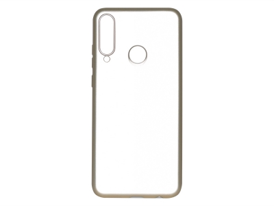 Силиконов гръб Level за Huawei Y6P, Златист