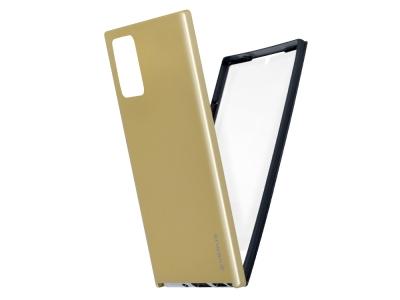 360 Градуса Калъф за Samsung Galaxy Note 20, Златист