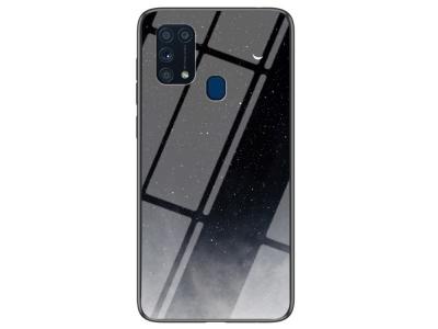 Стъклен Гръб Glass за Samsung Galaxy M31, Небе