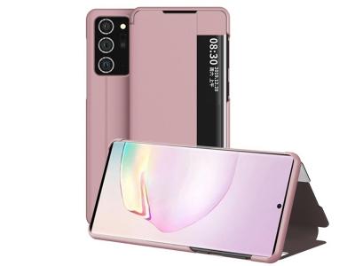 Калъф Тефтер View Flip за Samsung Galaxy Note 20, Розов