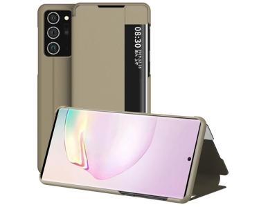 Калъф Тефтер View Flip за Samsung Galaxy Note 20 Ultra/Note 20 Ultra 5G, Златист