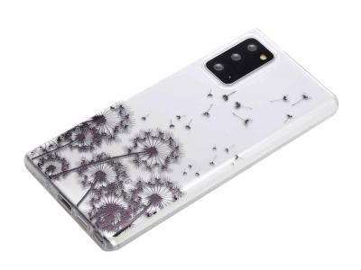 Силиконов калъф за Samsung Galaxy Note 20, Глухарче