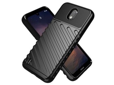 Силиконов калъфThunder за Nokia 1.3, Черен