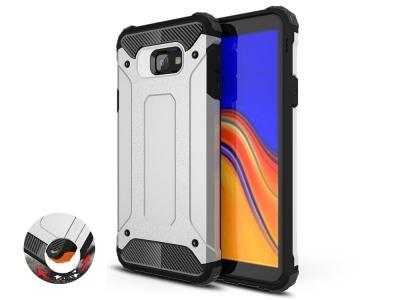 Удароустойчив калъф Armor за Samsung Galaxy J4 Core, Сребрист