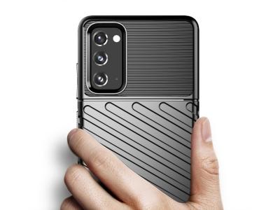 Силиконов калъф Twill Skin за Samsung Galaxy S20 FE 5G/Fan Edition 5G, Черен