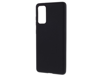 Силиконов калъф Matte за Samsung Galaxy S20 FE/S20 Fan Edition/S20 FE 5G/S20 Fan Edition 5G, Черен