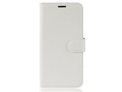 Калъф Тефтер Litchi за Samsung Galaxy S20 FE/S20 Fan Edition/S20 FE 5G/S20 Fan Edition 5G, Бял
