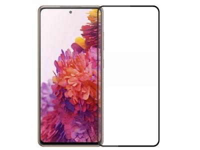 Стъклен Протектор 5D Full Glue за Samsung Galaxy S20 FE/S20, Черен