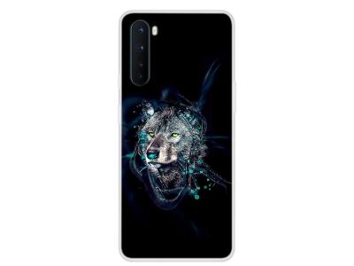 Силиконов Гръб за OnePlus Nord, Вълк