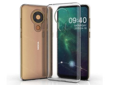 Силиконов калъф за Nokia 5.3, Прозрачен