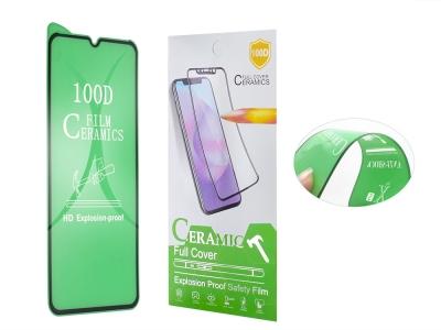 Стъклен Протектор Full Glue Hard Ceramic за iPhone 12 / 12 Pro, Черен